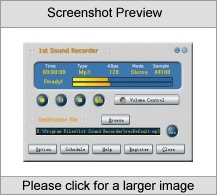 st Sound Recorder Screenshot